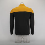 Cosplay 2019 Star Picard Startfleet Uniform Trek New Engineering Gold Top Shirts ST Costume Halloween Party Prop