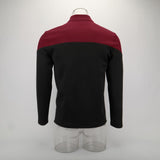 Cosplay 2019 Star Picard Startfleet Uniform Trek New Engineering Red Top Shirts ST Costume Halloween Party Prop