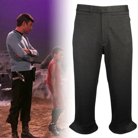 Star trek Csotume The Original Series Starfleet Uniform Pant TOS Men Kirk Spock Pants Halloween Party Prop