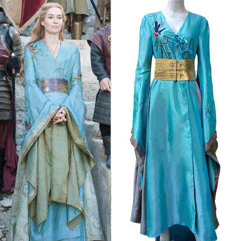 Game of Thrones Queen Cersei Lannister Green Exclusive Dress