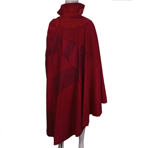 Adult /kids Doctor Strange Red Cloak Cosplay Costume Robe