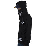 Watch Dogs 2 Catcher Hoodies   Man Sweatshirts Black Cosplay Jackets Zipper
