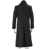 Sherlock Holmes Long Wool Winter Men's Coat Jacket Cosplay Costumes