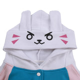 Overwatch Dva Cosplay Hoodie Sweatshirt Cosplay Costume