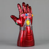 Avengers Endgame Iron Man Gauntlet Gloves Stone Movable Led Light Infinity War Glove Halloween Props