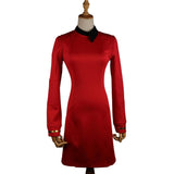 New Star Trek Discovery Season 2 Starfleet Commander Female Uniform Dress Badge Costumes Woman Adult Cosplay Costume