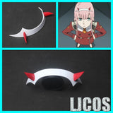 DARLING in the FRANXX Zero Two Hairband Cosplay Prop