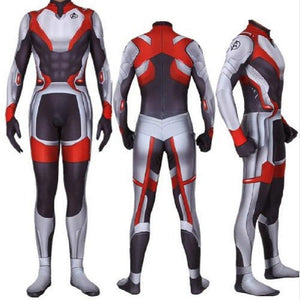 2019 New Avengers Endgame Quantum Realm Jumpsuit Spandex Zentai Tights Costume Advanced Tech Cosplay Costumes