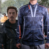 Avengers Infinity War Iron Man Cosplay Tony Stark  Baseball Coat