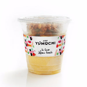 Vegan - Premium Ice Cream With Japanese Granola - Flavor: Passion Fruit - 340 ml