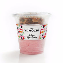 Premium Ice Cream With Japanese Granola - Strawberry - 340 ml