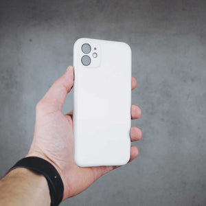 Ultra Thin iPhone 11 Case - Jet White