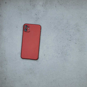 Ultra Thin iPhone 11 Case - Red