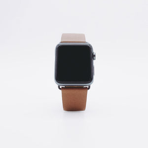 Apple Watch Leather Strap - Camel Brown / 38/40mm