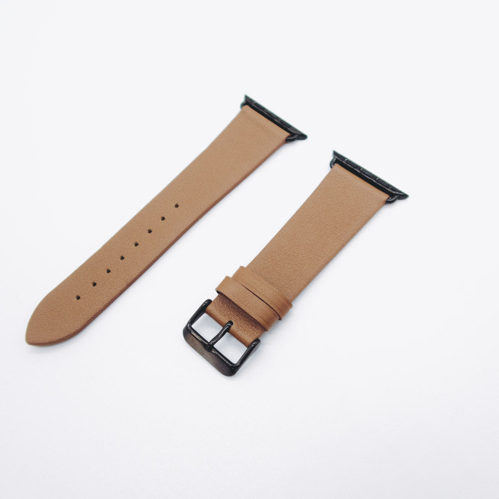 Apple Watch Leather Strap - Camel Brown / 42/44mm