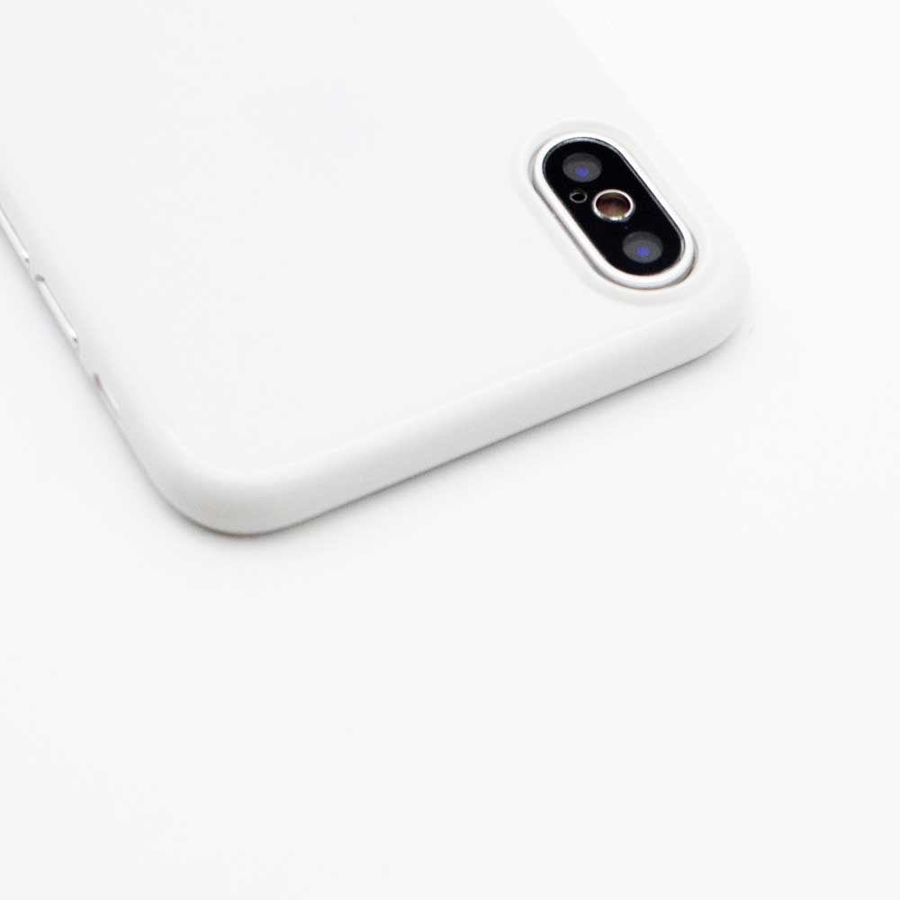 Ultra Thin iPhone XS Case - Jet White