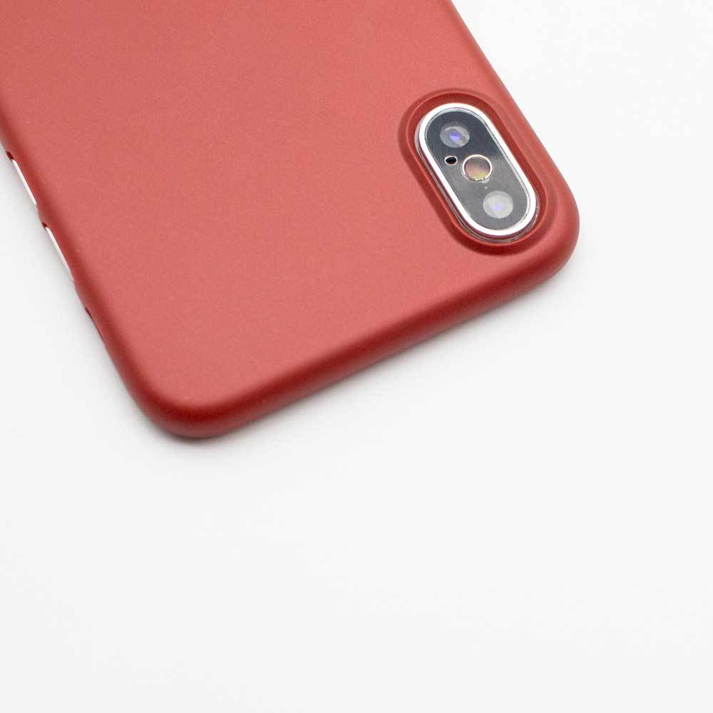 Ultra Thin iPhone X Case - Red