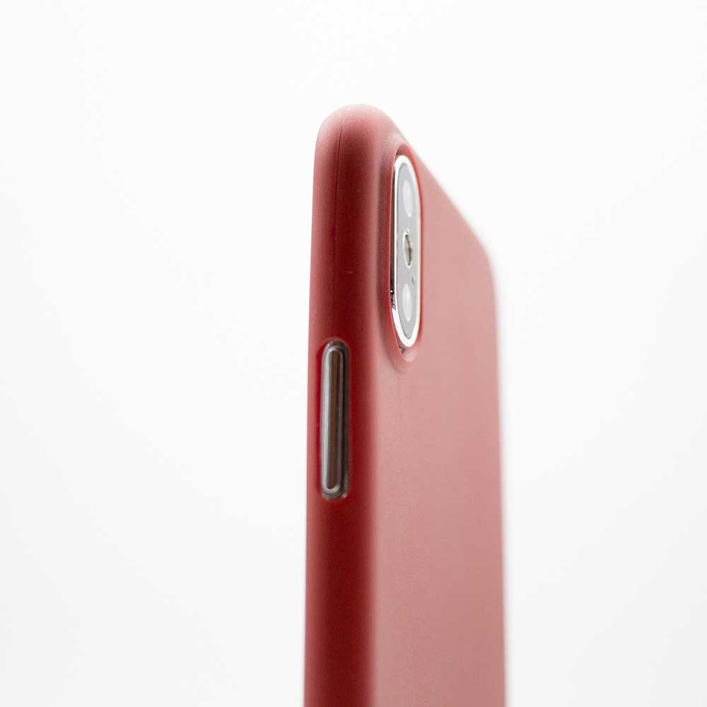 Ultra Thin iPhone XS Case - Red