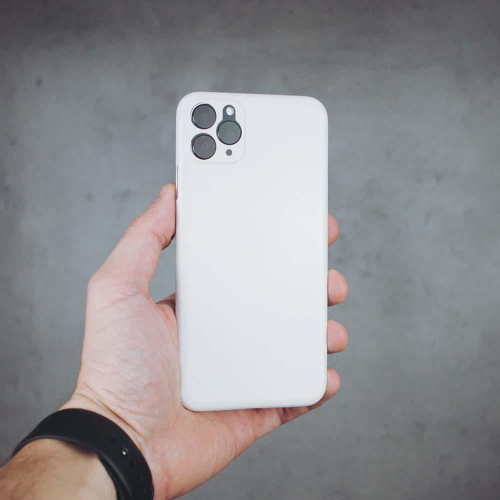 Ultra Thin iPhone 11 Pro Max - Jet White