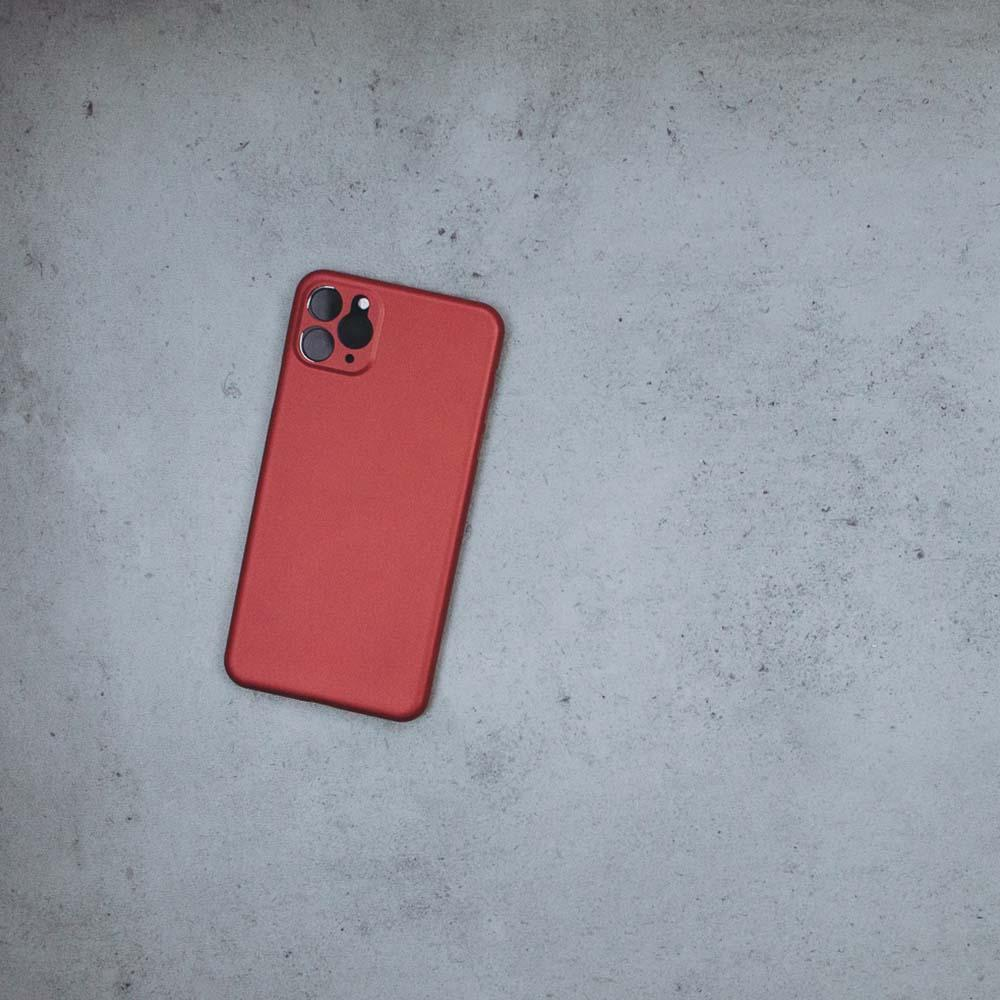 Ultra Thin iPhone 11 Pro Max - Red