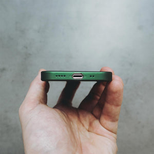 Ultra Thin iPhone 12 Mini Case - Dark Green
