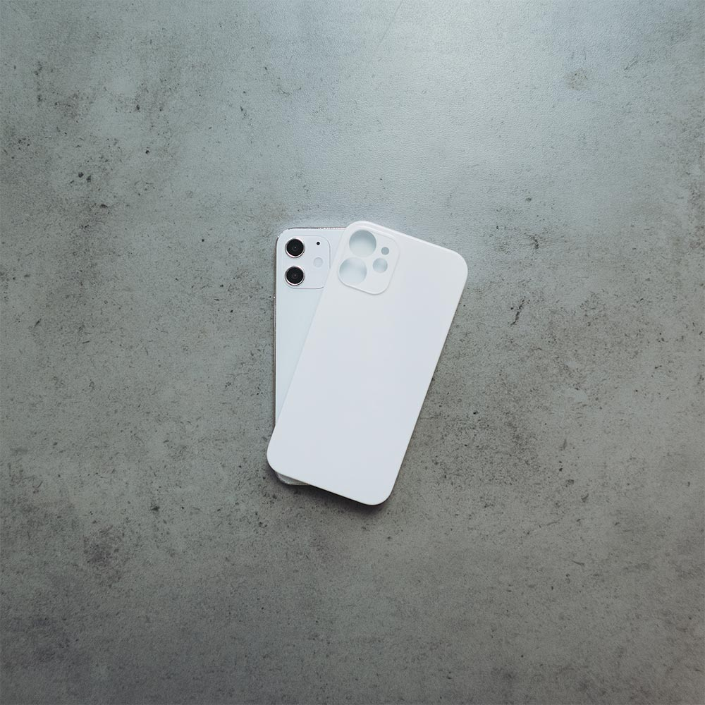 Ultra Thin iPhone 12 Mini Case - Jet White