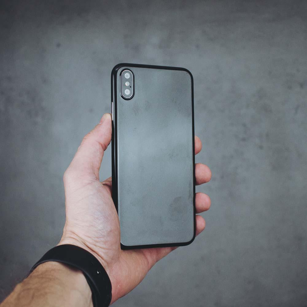Ultra Thin iPhone XS Max Case - Jet Black