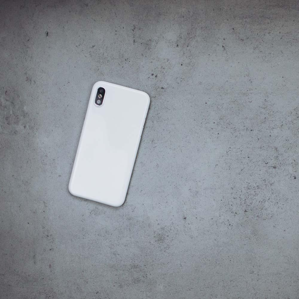 Ultra Thin iPhone X Case - Jet White
