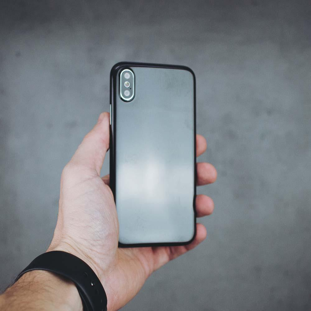 Ultra Thin iPhone X Case - Jet Black