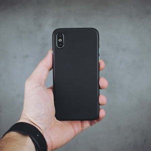 Ultra Thin iPhone X Case - Matte Black