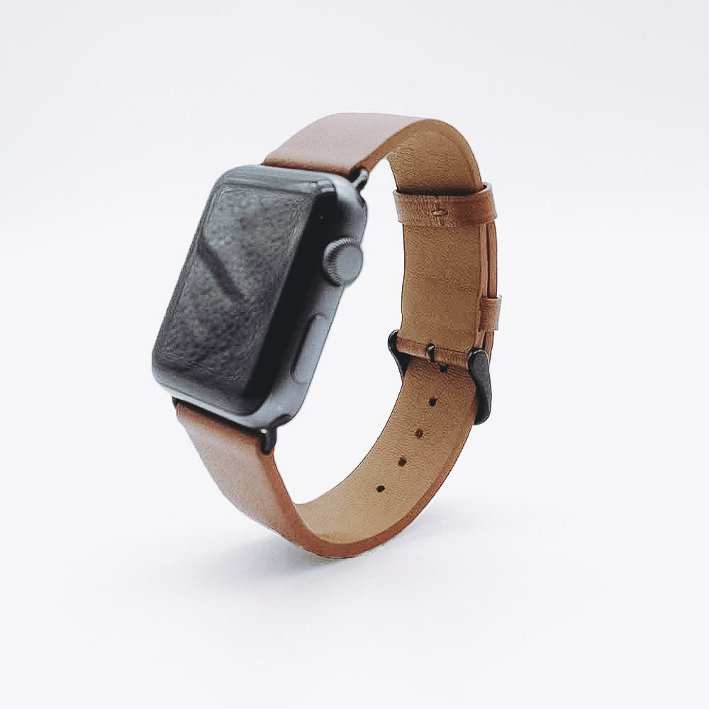Apple Watch Leather Strap - Brown / 38/40mm / 42/44mm
