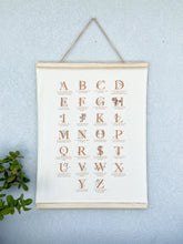 Mother Mantra Alphabet Print
