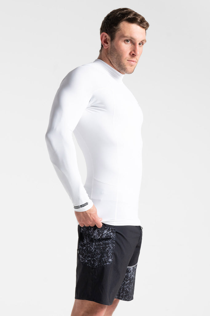 UV SKINS BASICS MENS LONG SLEEVE VEST
