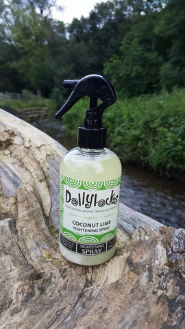 Dollylocks Haarspray - Coconut Lime 8oz