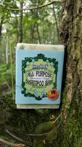 Knotty Boy Spearmint Allzweck Shampoo-Bar Haupt