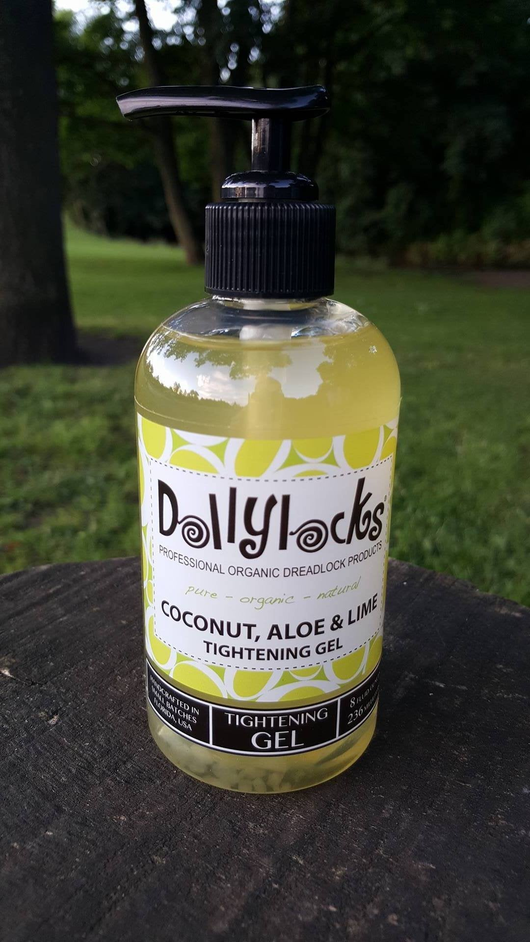 Dollylocks - Dreadlocks Gel Coconut, Aloe & Lime (8oz/236ml)