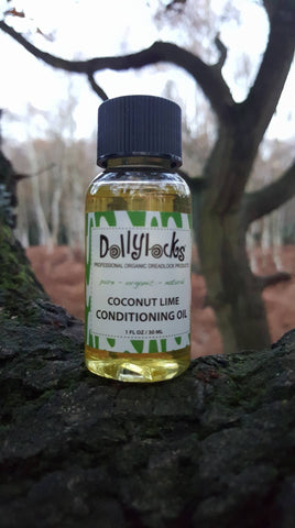 Dollylocks Dreadlocks Conditioning Öl Coconut Lime 1oz/30ml/Reisegröße2