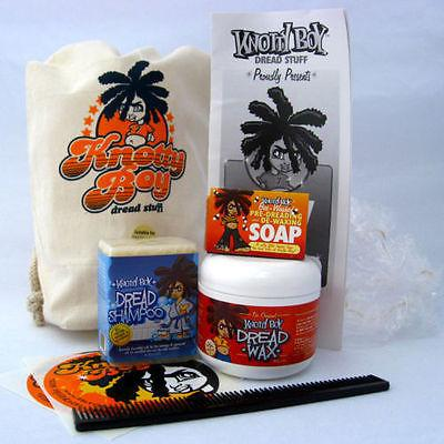 Knotty Boy Dreadlocks Starter-Kit Dark