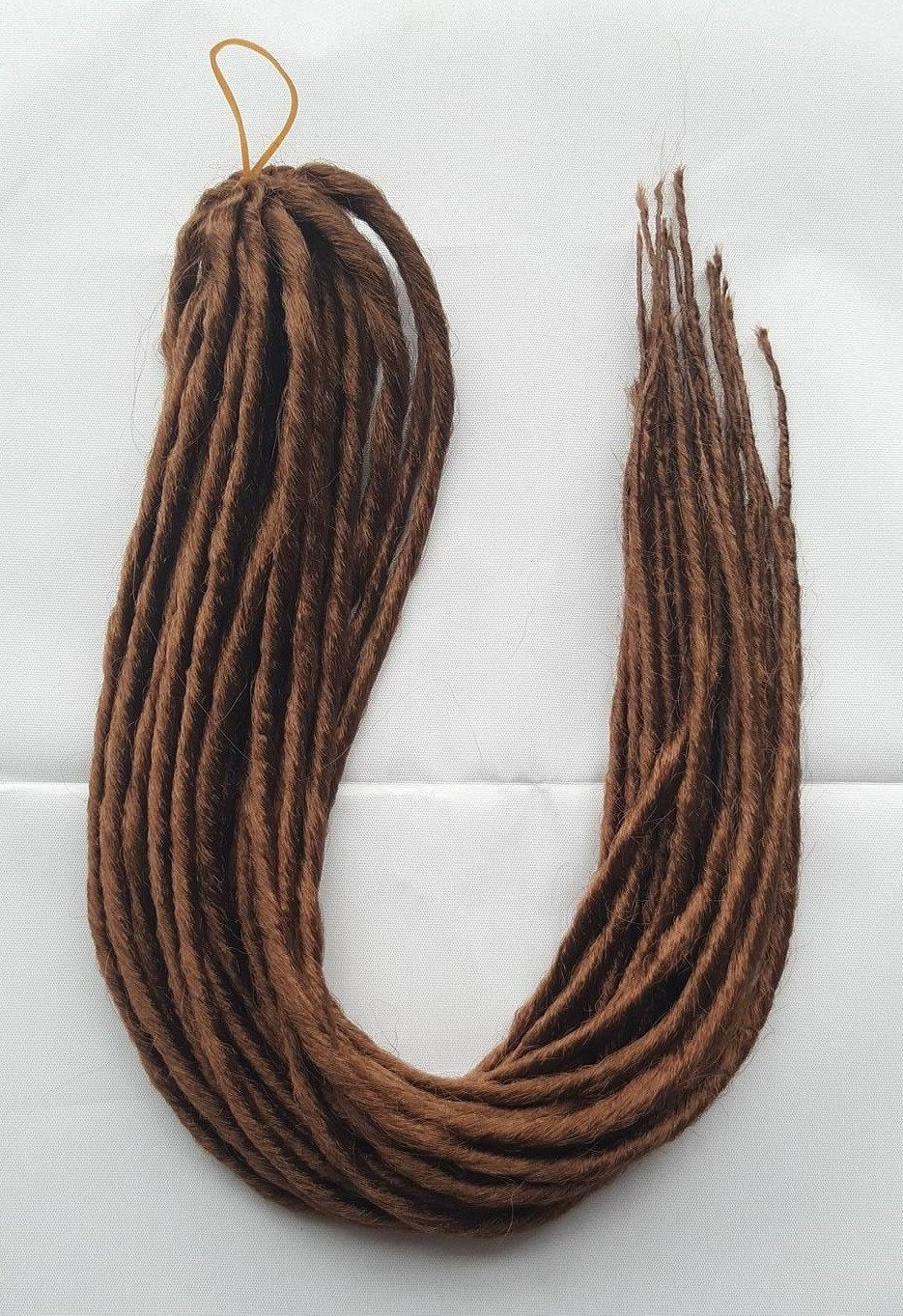 Elysee Star - #30 Reddish Brown Synthetische Dreadlocks (Doppelendend) (10 Pack)