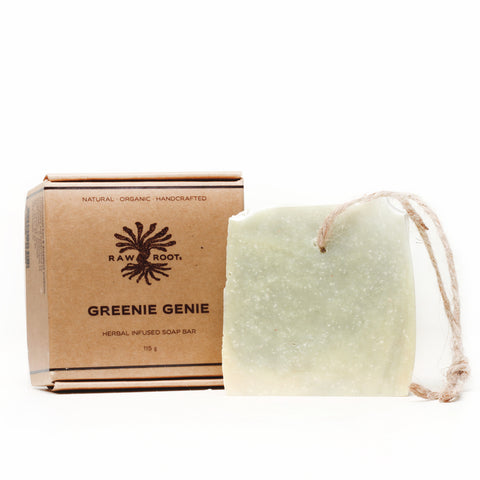 Raw Roots - Dreadlocks Seifenshampoo - Greenie Genie (120 g)