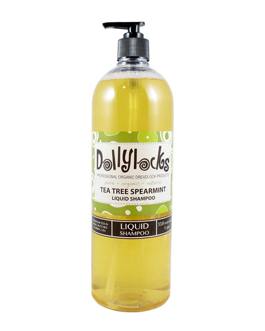 DOLLYLOCKS - FLÜSSIGES DREADLOCKS SHAMPOO - TEA TREE SPEARMINT (33.8OZ/1 LITRE)