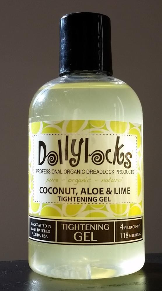 Dollylocks - Dreadlocks Gel Coconut, Aloe & Lime (4oz/118ml)