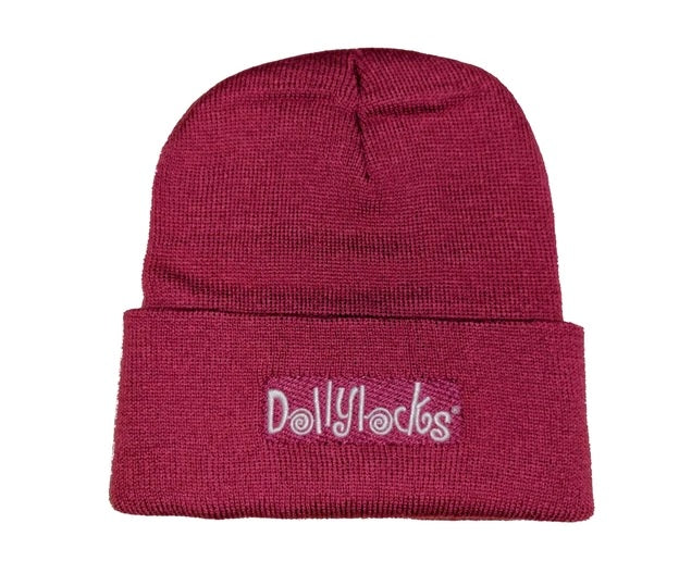 Dollylocks - Dreadlocks Rosa Knit Cotton Beanie