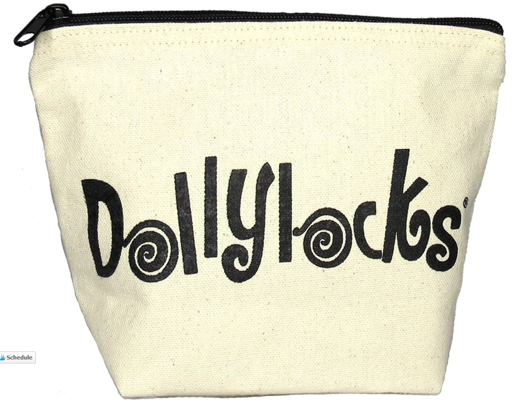 Dollylocks - Canvas Kosmetiktasche