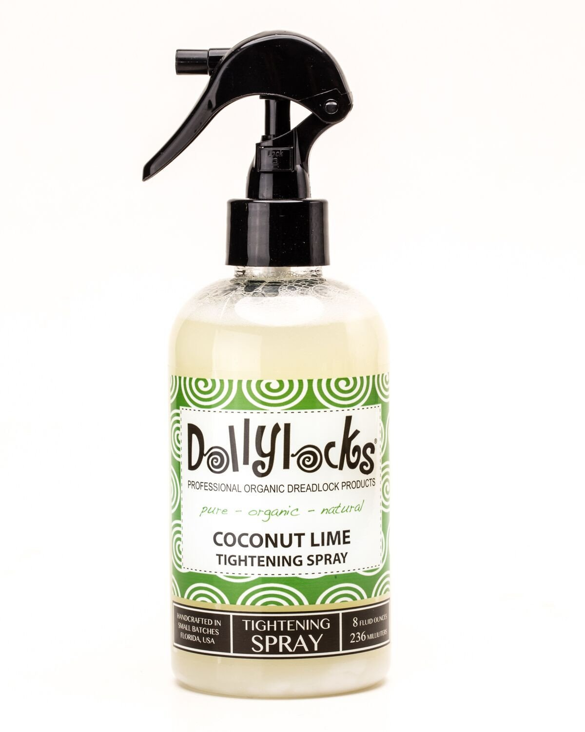 Dollylocks - Dreadlocks Haarspray - Coconut Lime (8oz/236ml)