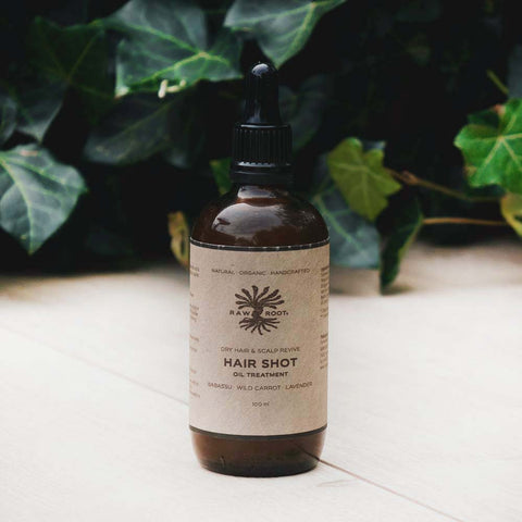 Raw Roots - Dry Hair Shot und Scalp Revive Oil (100 ml)