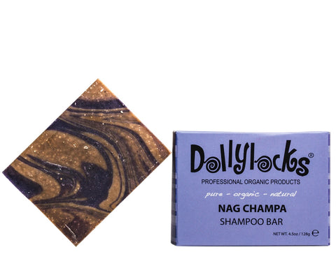 Dollylocks - Dreadlocks Shampoo-Bar - Nag-Champa (4.5oz/128g)