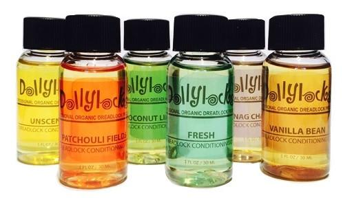 Dollylocks - Dreadlocks Conditioning Öl - Geruchslos (1oz/30ml/Reisegröße)