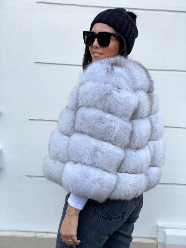 Short bubble coat