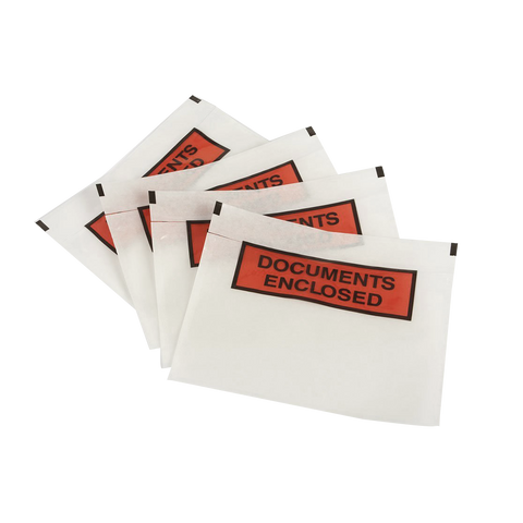 Document Enclosed Wallets - Pack of 1000